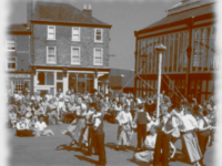 St George's Day - maypole dance