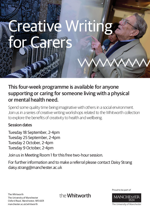 Creative Writing for Carers